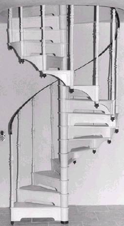 für Treppen-Durchmesser 1300 mm