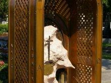 Grabschmuck, Grabueberdachung in Kupfer