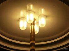 LED-Einsatz fuer historische Strassenleuchten. LED-Umruestsatz.