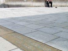 Bodenplatten aus Messing fuer die Stadtgemeinde Graz