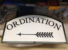 Firmen oder Ordinationsschilder